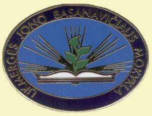 Ukmergės_J._Basanavičiaus_gimnazija,_logo